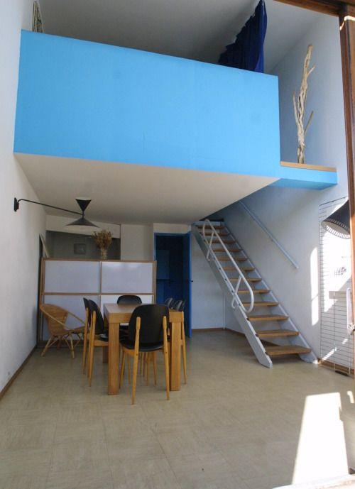 Smallspacesblog Unit D 39 Habitation Le Corbusier Firminy 185 East St Small House Pinterest