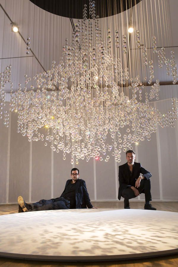 Fredrikson Stallard and their Pandora piece for #DigitalCrystal: Swarovski at the Design Museum