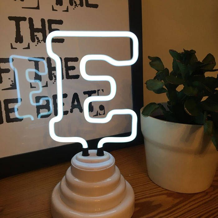Mini Neon Letter Lights - Battery/USB Operated - A-Z - Perfect Gift, Room Decor - Neon Gas, Neon Sign by RupandFornCreative on Etsy https://www.etsy.com/uk/listing/523208620/mini-neon-letter-lights-batteryusb