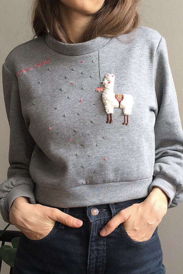 fdda174cf9 Embroidered clothing by Damaja Handmade #embroidery #handembroidery