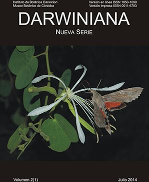 Darwinian New Series - Indexed by EIJASR Darwinian New Series, is published twice a year open to original research papers (primary) and reviews dealing with botany on a wide range of areas, with the exception of agricultural goods and strictly applied (direct transfer) nature. For more details : http://www.eijasr.com/indexing-journals/104/Darwinian-New-series.html