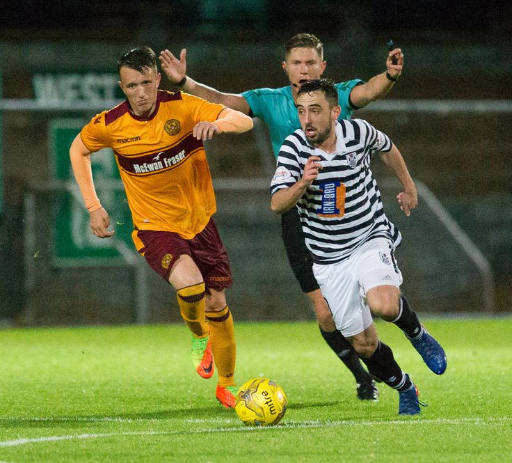 Queen's Park's Anton Brady in action during the IRN-BRU Cup Round 1 game between Motherwell 20s and Queen's Park.