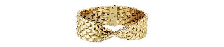La maison de joaillerie élargit sa collection 'Maillon Panthère' avec une série de bijoux graphiques savamment torsadés en or jaune ou gris, disponibles en boutique dès janvie