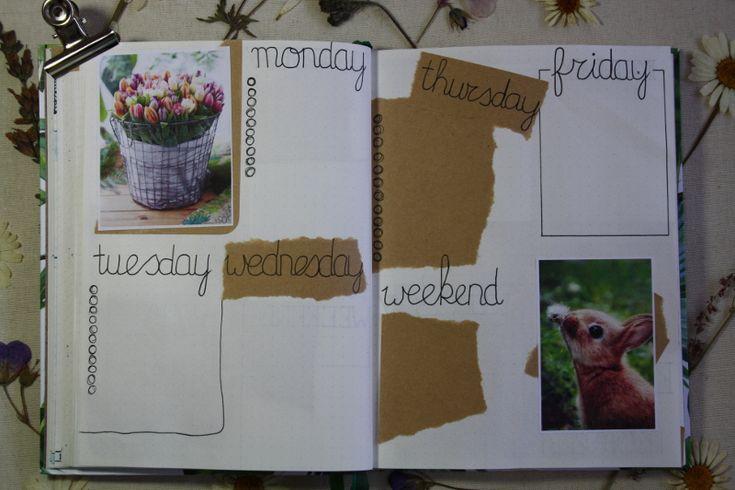 Bullet journal #3 - April