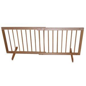 Cardinal Gates Step Over Wood Gate | SGN | Wooden Dog Gate