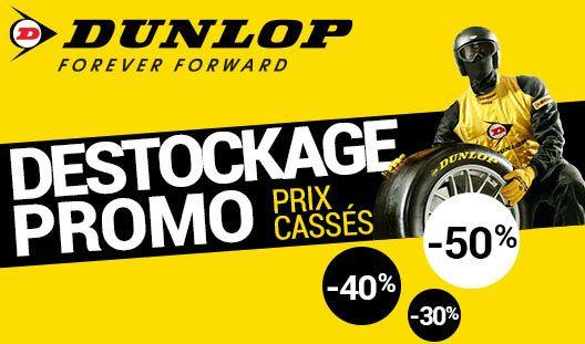 Découvrez nos meilleures promotions sur les pneus de la marque DUNLOP Chez 1001Pneus