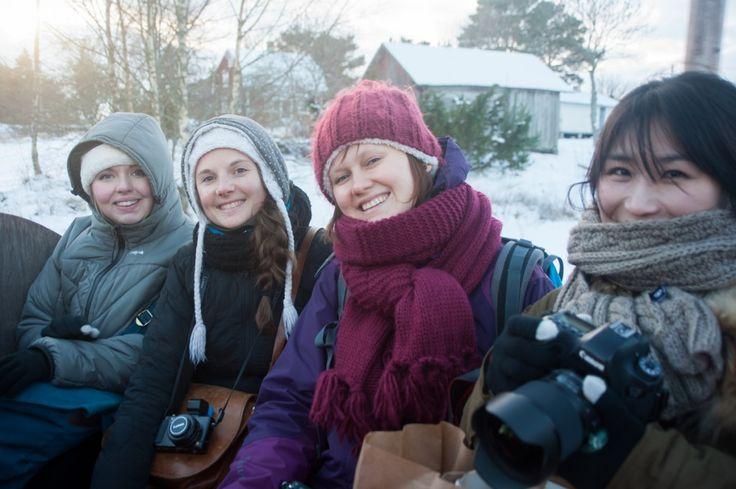 Séjour hivernal dans les îles Åland en Finlande (Detour Local) -> Un groupe de blogueurs exceptionnels au NBE en Finlande www.detourlocal.com/sejour-hivernal-iles-aland-finlande/