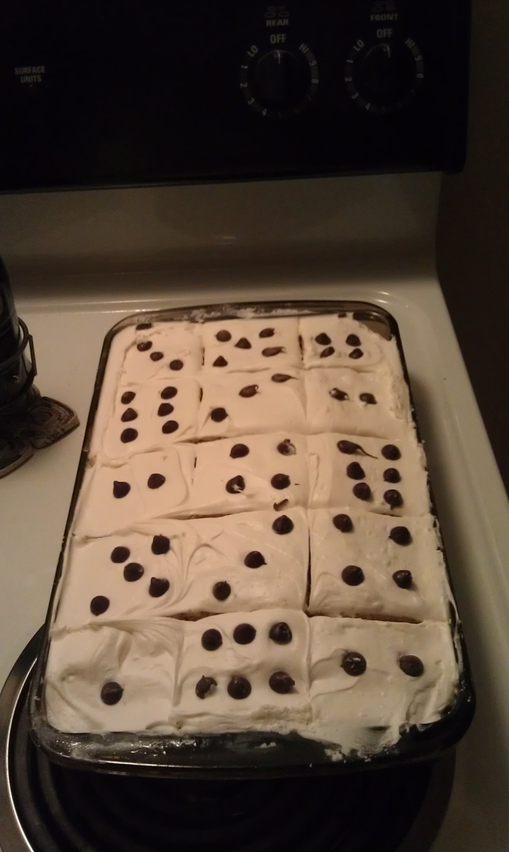"Fun, cute and oh so simple ""dice"" cake I did for bunco ;)"