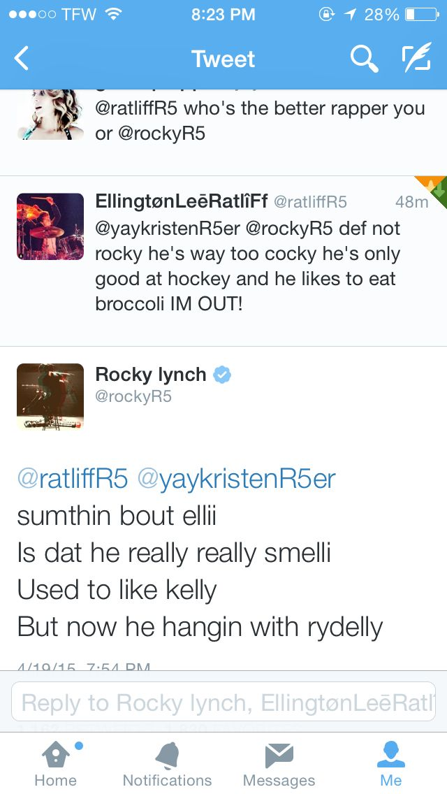 That's right rydellington for the win!!!!