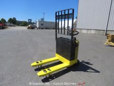 Hyster W40Z 4K lbs Pallet Jack Warehouse Industrial Electric Lift Truck bidadooforklift financing apply now www.bncfin.com/apply