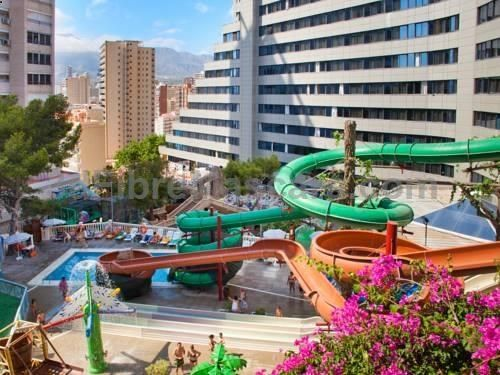Magic Aqua Rock Gardens Benidorm Magic Aqua Rock Gardens is the perfect place for a fun-filled holiday in the sun in Benidorm. It is a 2-minute walk from the beach, and set in tranquil surroundings, just outside the city centre.