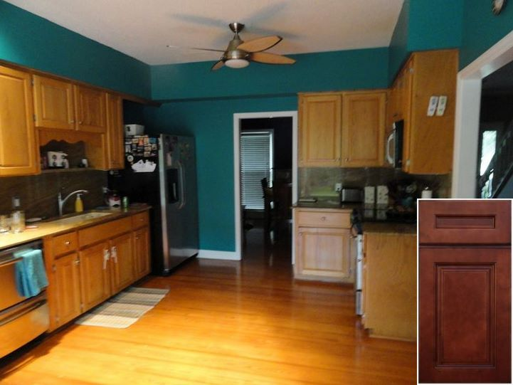 Small Cleaning Greasy Oak Cabinets Oakkitchencabinets