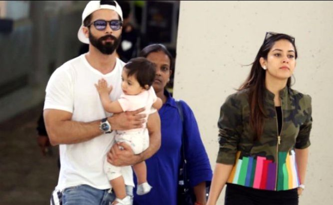 Shahid Kapoor and daughter Misha's photos from New York City  | Bollywoodtalkin
