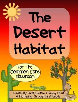 Desert Habitat for the Common Core Classroom: Desert Theme, Core Classroom, Student, Animal Habitats, Common Cores, Habitats Desert, Desert Habitat, Deserts, Desert Classroom Theme