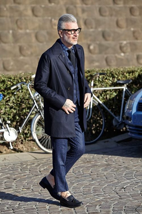 Men's street style Domenico Gianfrate Style For Men