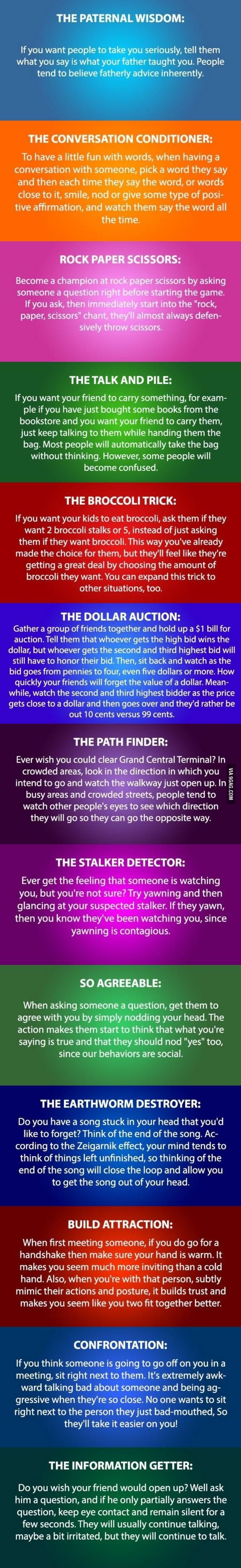 13 Cool Psychology Tricks You Need To Try | DailyFailCenter