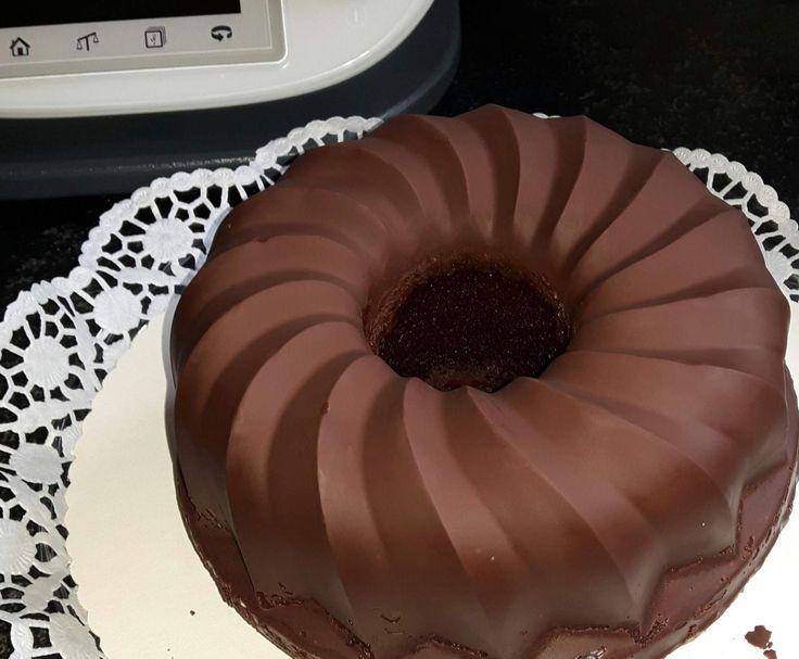 Rezept Schokoladenguss wie vom Bäcker von sabhe - Rezept der Kategorie Grundrezepte