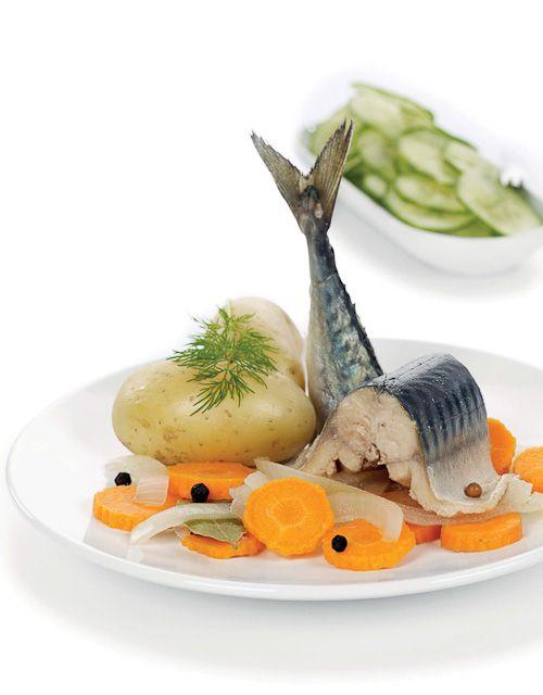 Kokt makrell
