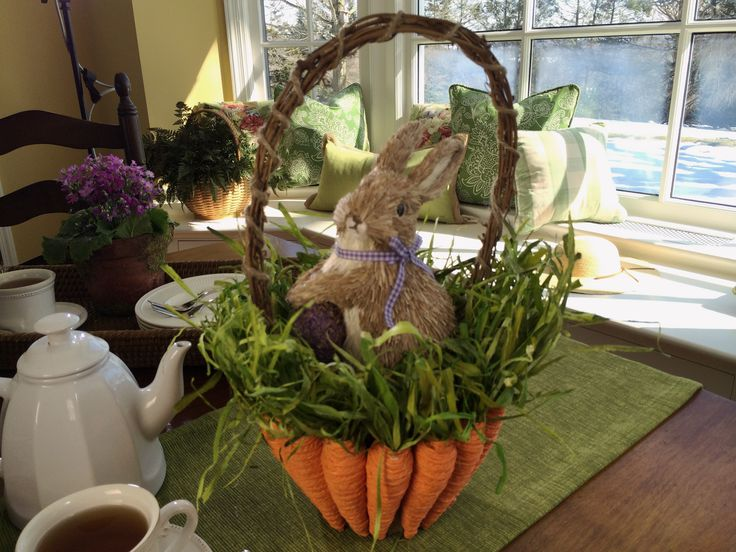 215 best valerie parr hill decor qvc images on pinterest this carrot basket holds an adorable bunny h202507 httpqvc negle Choice Image