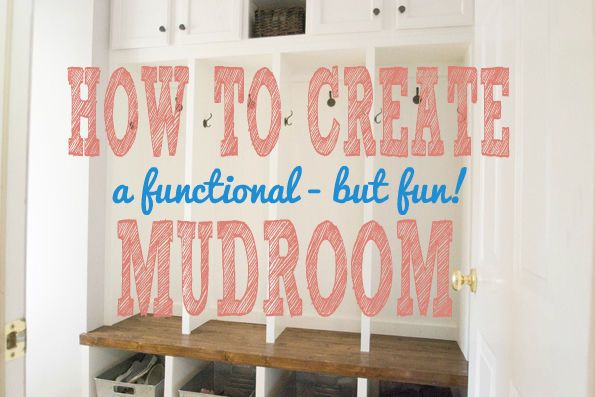 DIY Home Ideas | Winter weather is coming, and you know what that means... Jackets, scarves, and gloves - OH MY! Check out my guide on How to Create a Functional (but Fun!) Mudroom | #Ad
