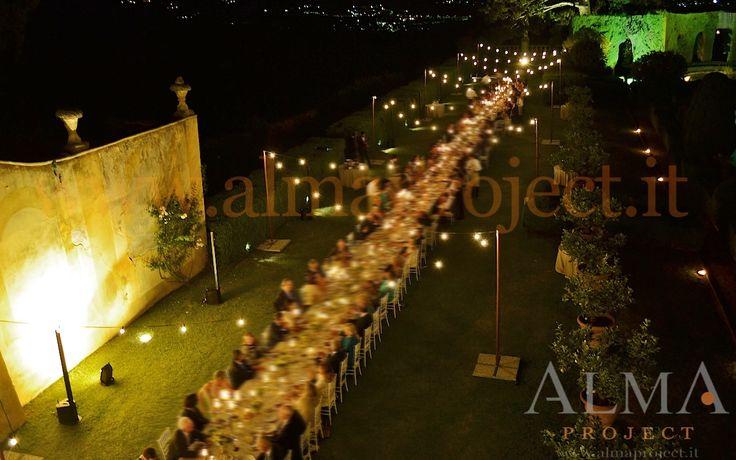ALMA PROJECT @ Gamberaia - Light BULBS string fairy palo set panoramica 3 bose L1