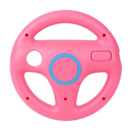 Plastic Game Racing Steering Wheel for Nintendo Wii Mario Kart Remote Controller On Clearance - Walmart.com