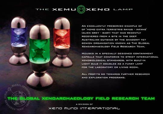 Xemu Xeno Lamp | Christy | Pinterest | Lamps and Aliens