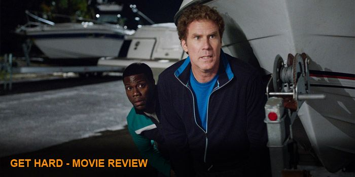 'Get Hard' stars Will Ferrell as filthy rich financial analyst and extremely dumb James King. He lives in a sprawling mansion in Bel Air, is engaged to his boss' daughter Alissa (Alison Brie) and has just been named a partner at his firm by...