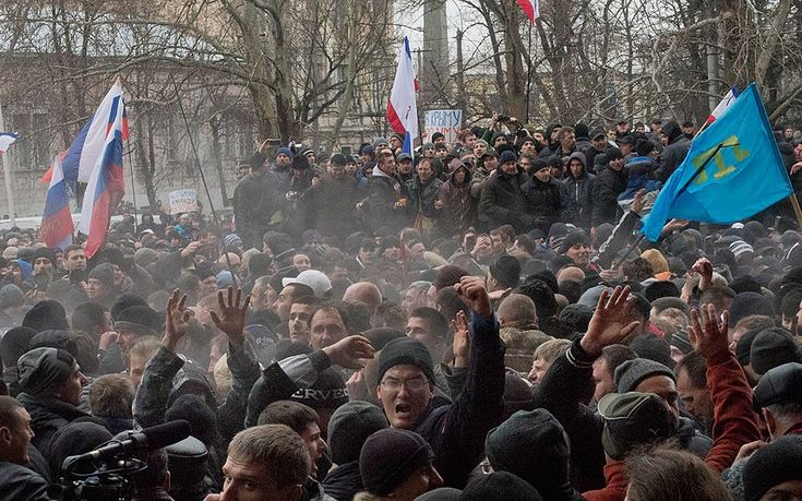 Ukraine crisis. The start of the second Cold War has begun with Syria and now on to Ukraine when will the American people address this issue or the last? There is a fear this might get more out of hand soon and lead to a world war.