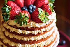 84: Shortcake with white chocolate by Natalia Kudela