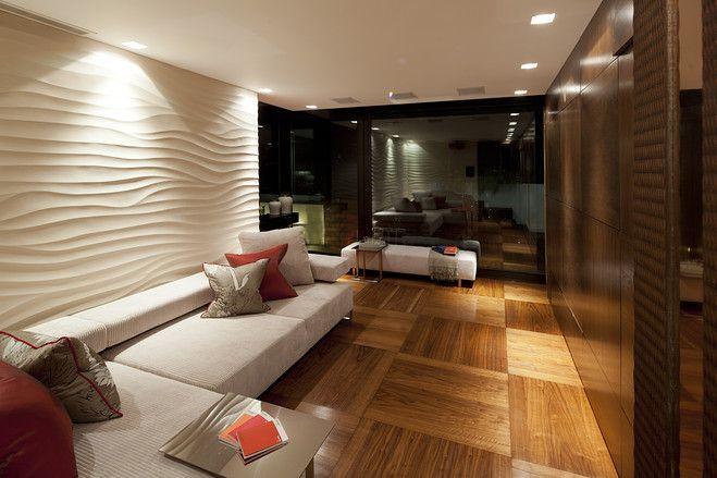 wall texture (wavy, ripples)