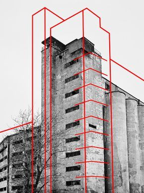 Entre graphisme, photographie, géométrie et architecture, travail du photographe russe Alexey Bogolepov.