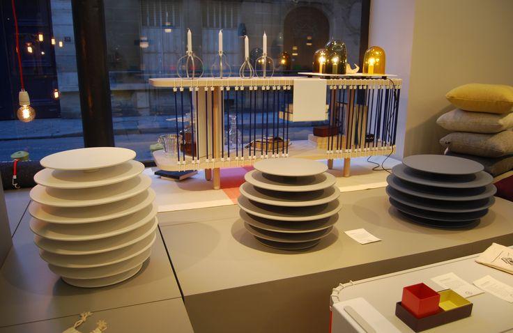 Maison M Paris | Petit et Grand Club Sandowich, designer C. de Moulins | Ruches 6, 7 et 9, designer A. de Pastre | Polit, 2013 |  http://www.polit.fr/polit-un-éditeur-français.html | Exposition prolongée jusqu'au 4 novembre 2013