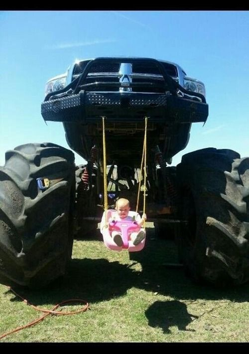 now there is a Lifted  Dodge Ram for you !