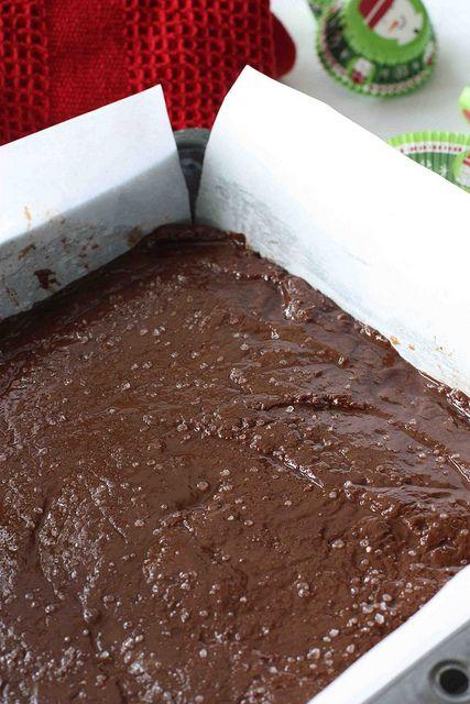CHOCOLATE NUTELLA FUDGE WITH SEA SALT (RECIPE): Nutella fudge - 'nough ...