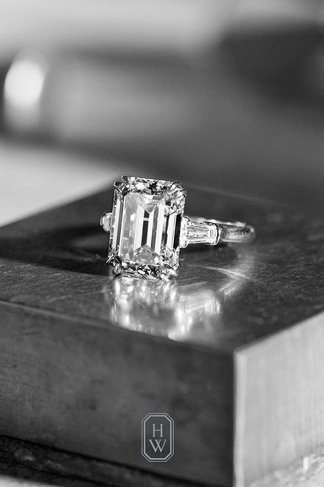 Incredible Harry Winston Engagement Rings ❤️ See more: http://www.weddingforward.com/harry-winston-engagement-rings/ #weddings