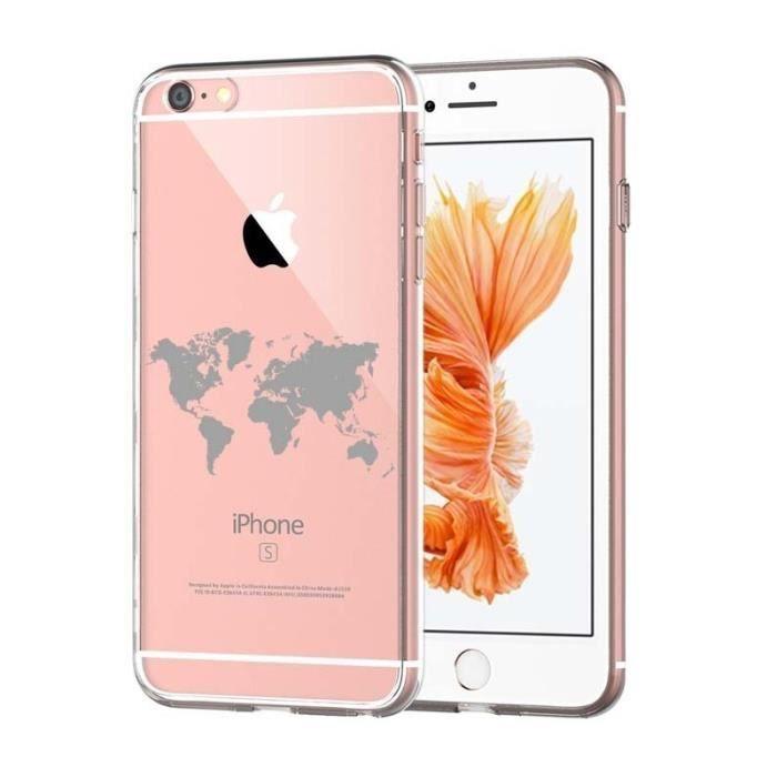 coque iphone 7 motif carte du monde | Iphone, Iphone 7, Electronic ...