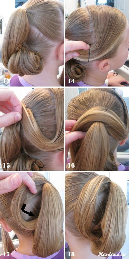 Прически на день рождения на средние волосы