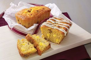 Hummingbird Mini Loaves recipe--makes 5 loaves/6 servings each loaf--160 calories per serving