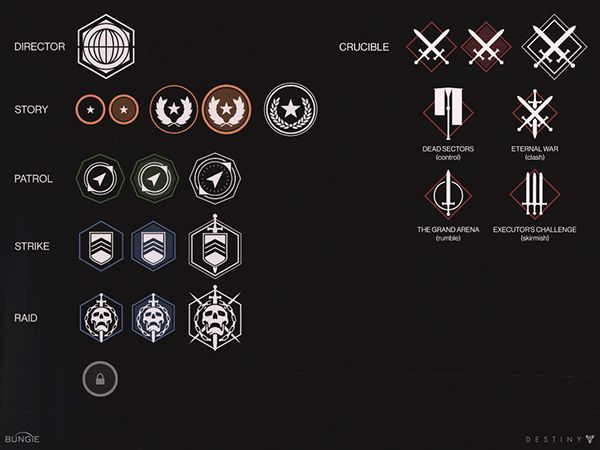 Destiny Iconography + 2D art on Behance