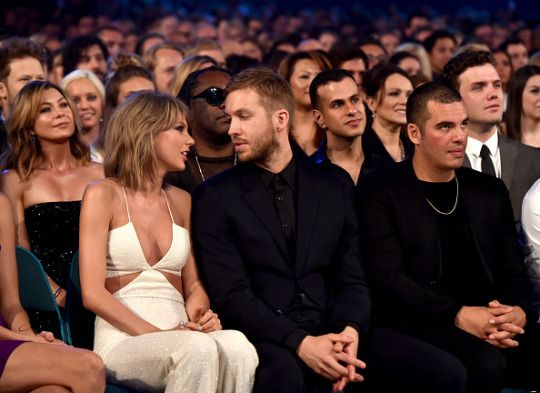 Taylor Swift and Calvin Harris <3