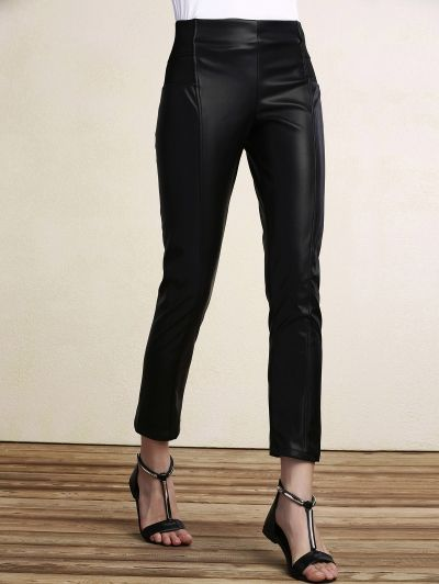 SHARE & Get it FREE | Black PU Leather Pencil PantsFor Fashion Lovers only:80,000+ Items • New Arrivals Daily Join Zaful: Get YOUR $50 NOW!