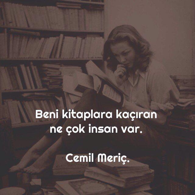 Beni kitaplara kaçıran ne çok insan var | Cemil Meriç