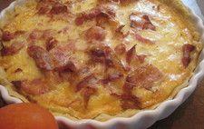 Västerbottenpaj med bacon