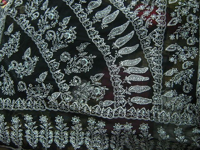 Lucknow Chikankari (Embroidery) art