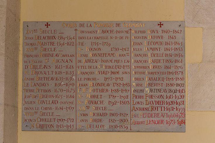 """""""Germigny-des-Prés - Église de la Très-Sainte-Trinité 13"""" autorstwa Pymouss - Praca własna. Licencja CC BY-SA 4.0 na podstawie Wikimedia Commons"""
