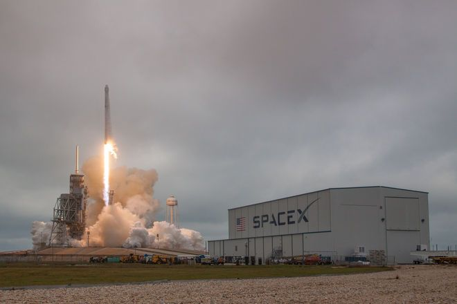 SpaceX Launches 1st Private Rocket from Historic NASA Pad —Then Sticks a Landing