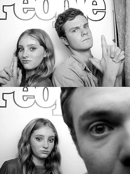 Jack Quaid & Willow Shields at Comic-Con 2012