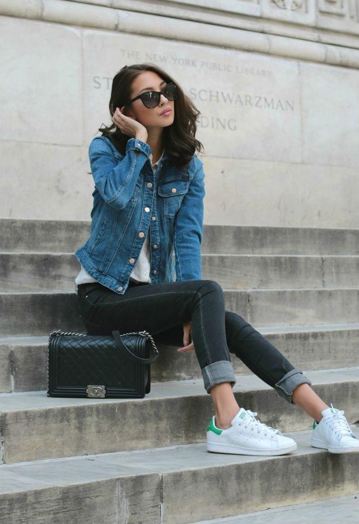 Adidas Stan Smith Blue Tumblr