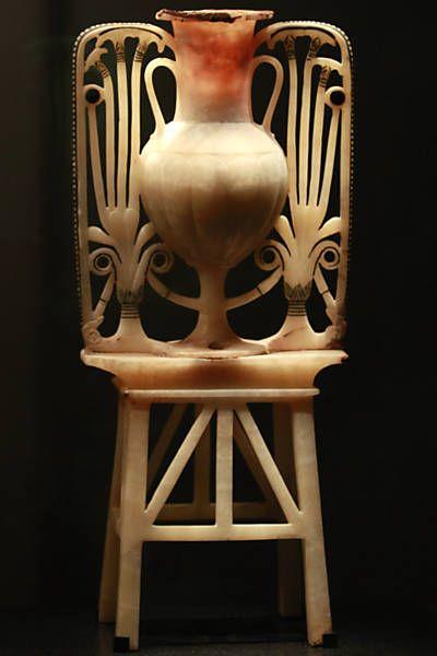 Arte dos faraos Foto5 - Vaso usado pelos egipcios para fins medicinais e curativos